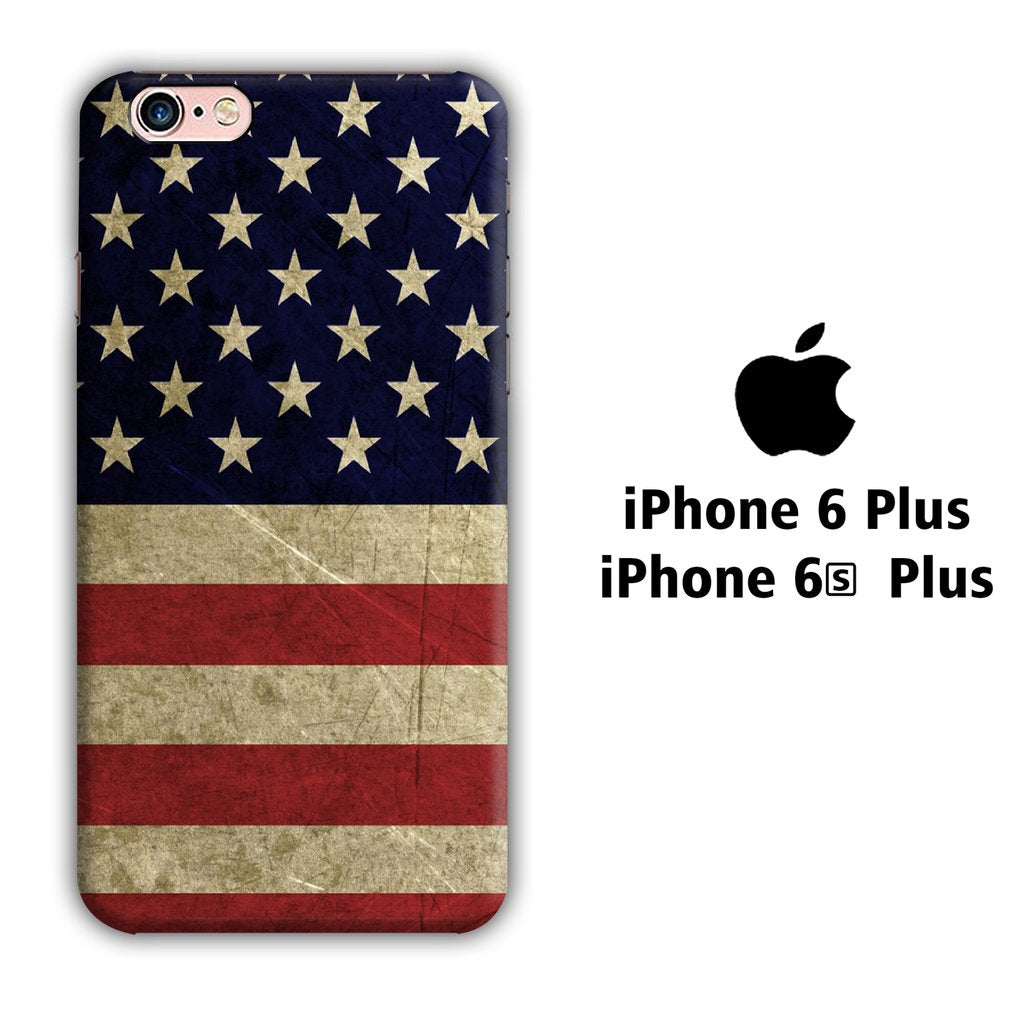 Flag of USA 002 iPhone 6 Plus | 6s Plus 3D coque custodia fundas