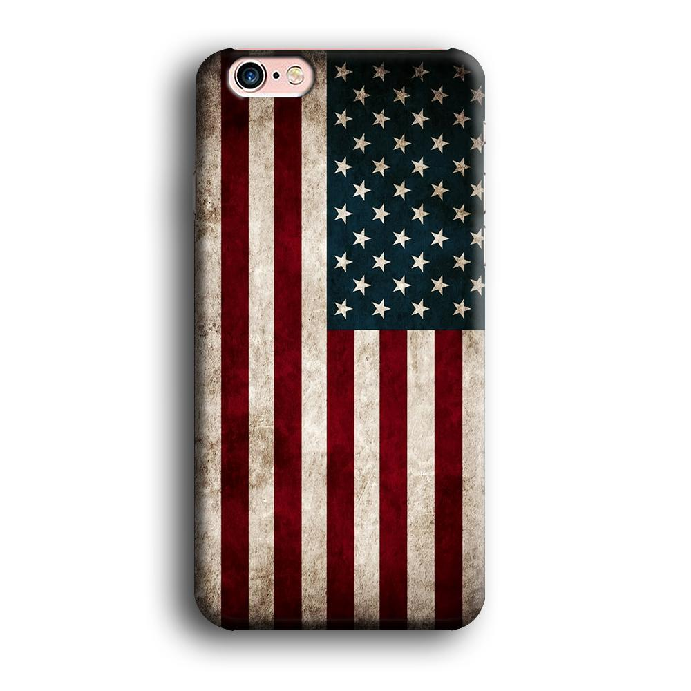 Flag of USA Glory iPhone 6 | 6s 3D coque custodia fundas