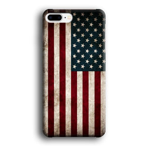 Flag of USA Glory iPhone 7 Plus 3D coque custodia fundas