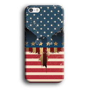 Flag of USA Honour iPhone 5 | 5s 3D coque custodia fundas