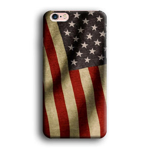 Flag of USA Old Theme iPhone 6 | 6s 3D coque custodia fundas