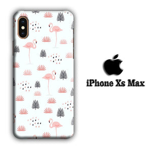 Flamingo Motionless iPhone Xs Max 3D coque custodia fundas