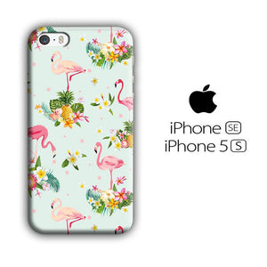 Flamingo Stand at The Garden iPhone 5 | 5s 3D coque custodia fundas