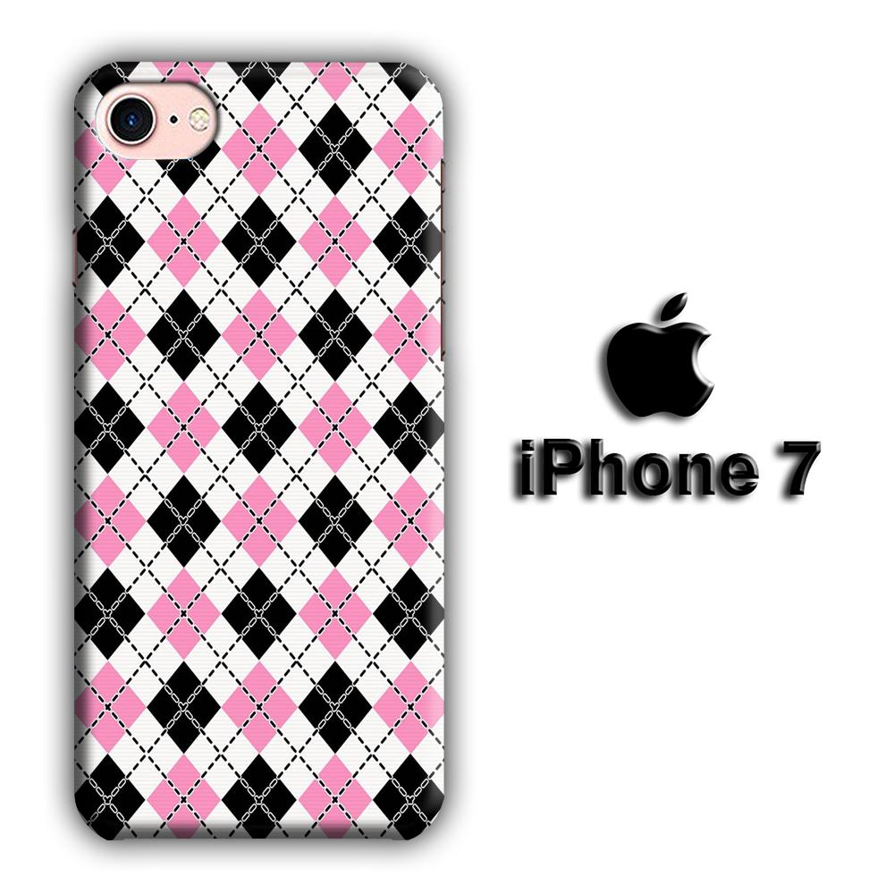 Flanel Chain iPhone 7 3D coque custodia fundas