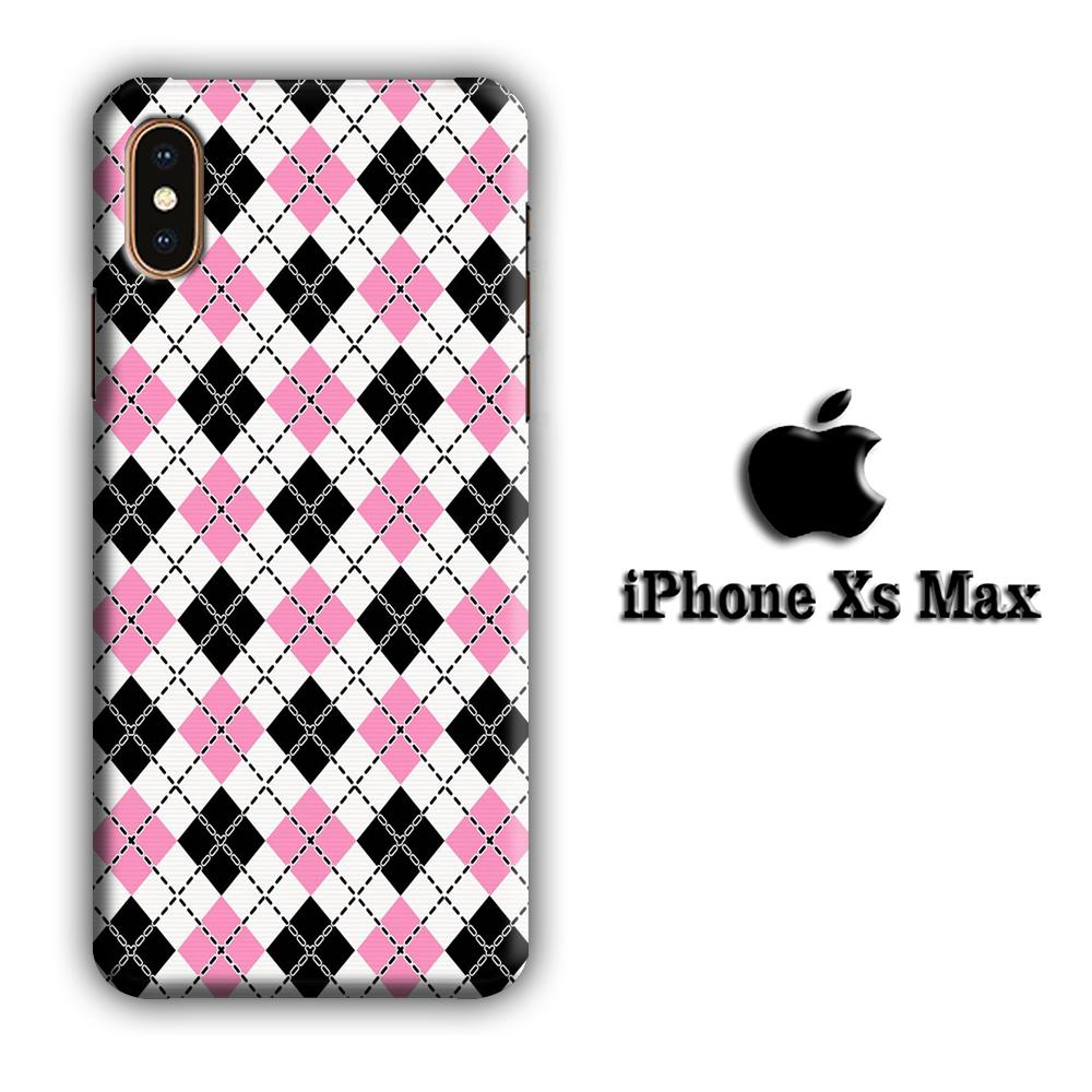 Flanel Chain iPhone Xs Max 3D coque custodia fundas