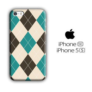 Flanel Soft Blue iPhone 5 | 5s 3D coque custodia fundas