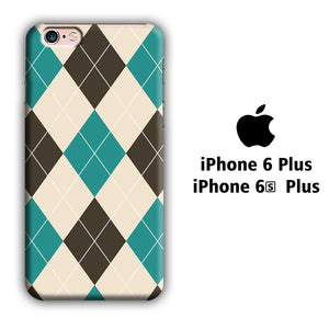 Flanel Soft Blue iPhone 6 Plus | 6s Plus 3D coque custodia fundas