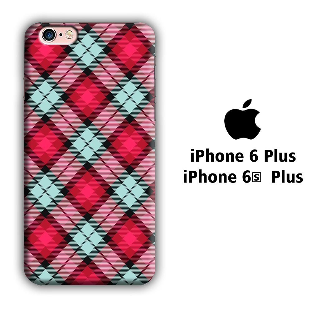 Flanel Soft Red iPhone 6 Plus | 6s Plus 3D coque custodia fundas
