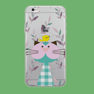 Flanel Style of My Pets coque iPhone 6 Plus | iPhone 6s Plus Clear