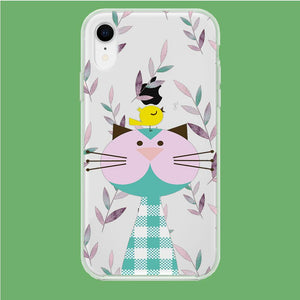 Flanel Style of My Pets iPhone XR Clear coque custodia fundas