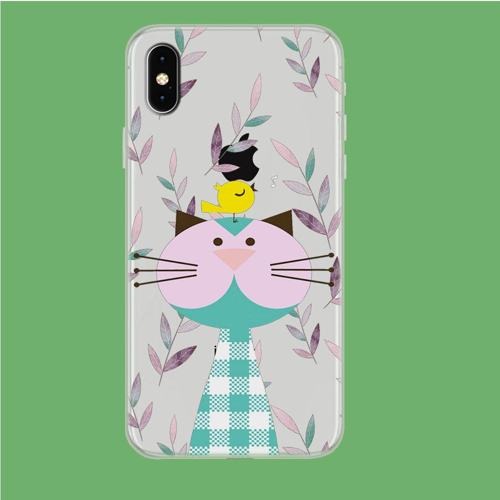 Flanel Style of My Pets iPhone Xs Max Clear coque custodia fundas
