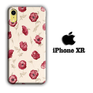 Flower Bloody Hibiscus iPhone XR 3D coque custodia fundas