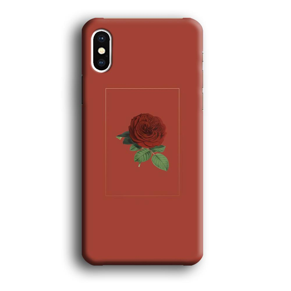 Flower Bucket Desire Thrust iPhone X 3D coque custodia fundas