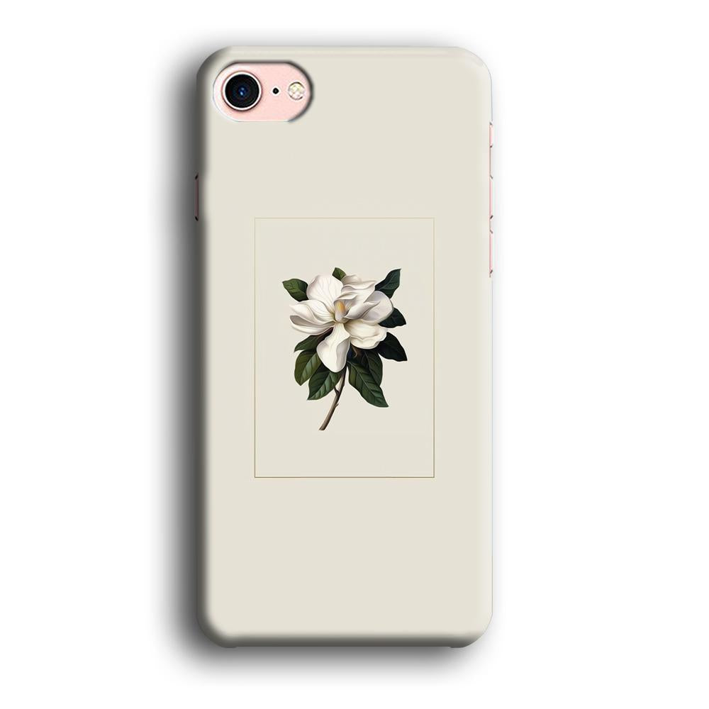 Flower Bucket Innocence iPhone 8 3D coque custodia fundas