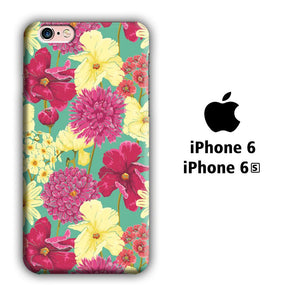 Flower Fervor iPhone 6 | 6s 3D coque custodia fundas