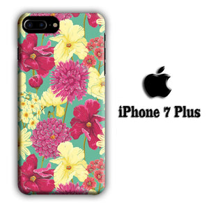 Flower Fervor iPhone 7 Plus 3D coque custodia fundas