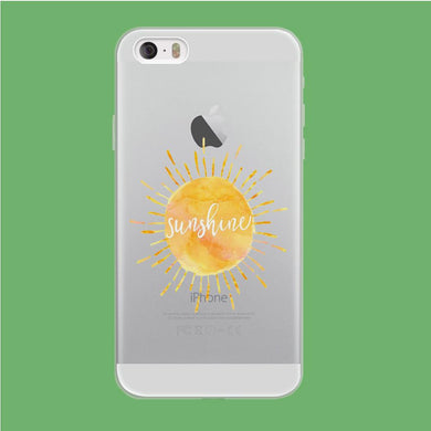 Sunshine Beauty coque iPhone 5 | 5s Clear