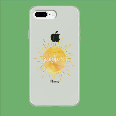 Sunshine Beauty iPhone 8 Plus Clear coque custodia fundas