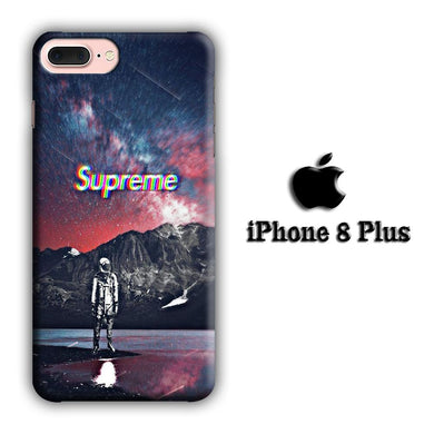 Supreme 007 iPhone 8 Plus 3D coque custodia fundas