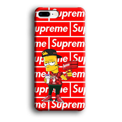 Supreme Bart Hype iPhone 8 Plus 3D coque custodia fundas