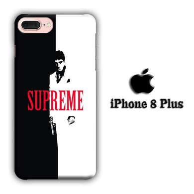 Supreme Bond Style iPhone 8 Plus 3D coque custodia fundas