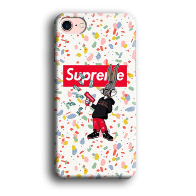 Supreme Hype Bunny iPhone 8 3D coque custodia fundas