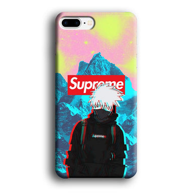 Supreme Kakashi Colour Exposure iPhone 7 Plus 3D coque custodia fundas