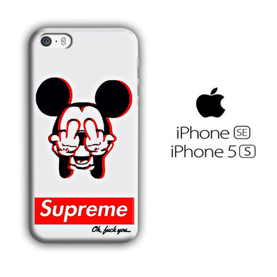 Supreme Mickey iPhone 5 | 5s 3D coque custodia fundas