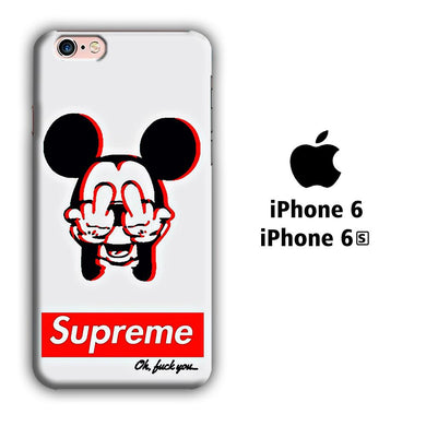 Supreme Mickey iPhone 6 | 6s 3D coque custodia fundas