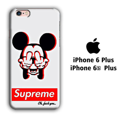 Supreme Mickey iPhone 6 Plus | 6s Plus 3D coque custodia fundas