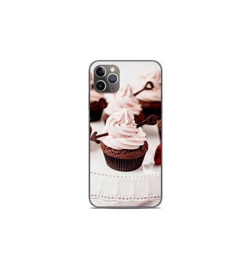 Coque en silicone pour Apple iPhone 11 Pro Max - Cup Cake