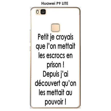 Coque Huawei P9 Lite design Citation
