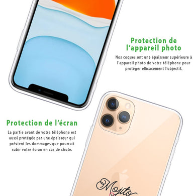 Coque iPhone 11 Pro MaxNIKE Logo Rose Rouge Coque Compatible iPhone 11 Pro Max