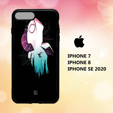 coque iphone 5 6 7 8 plus x xs xr case R2160 spider gwen wallpaper 189hS7