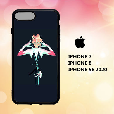 coque iphone 5 6 7 8 plus x xs xr case Z5991 spider gwen wallpaper 189nN6
