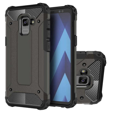 Coque Pour Samsung A5 2018 Armor Case Dual Layer Shock Absorbing TPU  Protective Case Cover