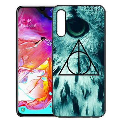 Officiel Harry Potter Hogwarts Parchemin Sorcerer's Stone I Coque en Gel  molle pour Samsung Galaxy A70 (2019)