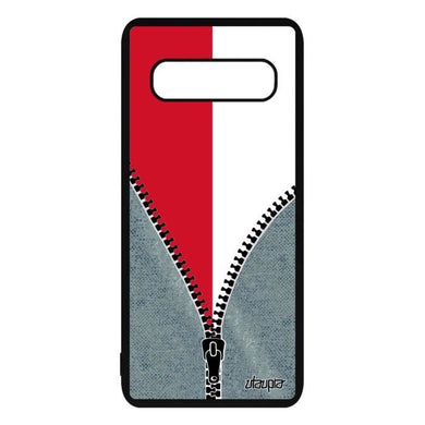Coque S10 Plus silicone drapeau monaco monegasque foot metal Samsung Galaxy  S10 Plus