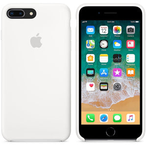 coque apple blanche iphone 8 plus