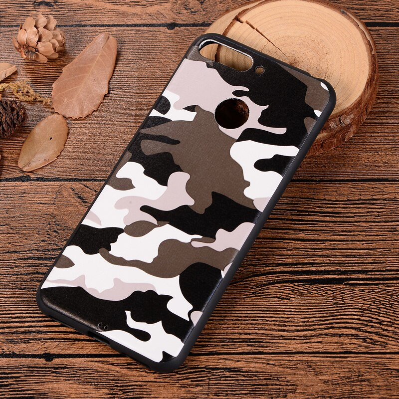 coque huawei y6 2018 camouflage