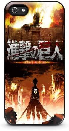 coque iphone 5s attack on titan