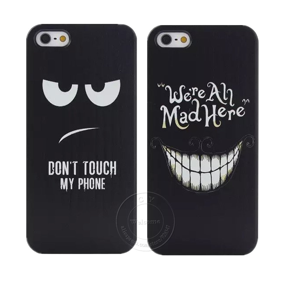 coque iphone 5s don't touch my phone