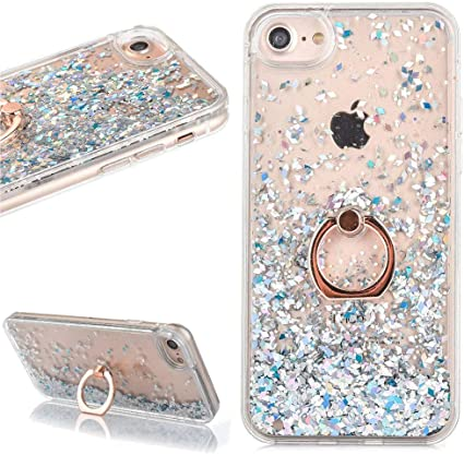 coque iphone 5s liquide paillette