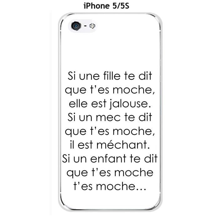 coque iphone 5se fille
