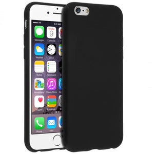 coque iphone 6 silicone apple noir