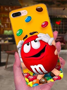 coque iphone 7 plus m&m's