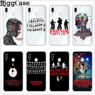 Coque Samsung Galaxy S4 Stranger Things Alphabet