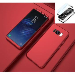 Coque Samsung Galaxy S8 Plus. rouge Amortisseur anti