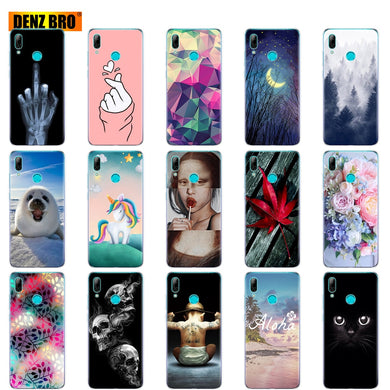 coque silicone huawei y7 2019