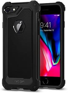 coque spigen iphone 7/8 rugged armor noir